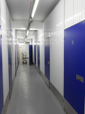 Nuneaton Self Storage Corridor